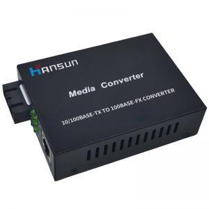 10/100/1000M Dual-fiber media converter